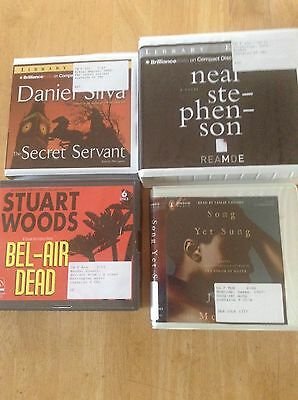 Lot of 4 - ex library - Reamde, Bel-Air Dead, Song Yet Sung, Secret Servant