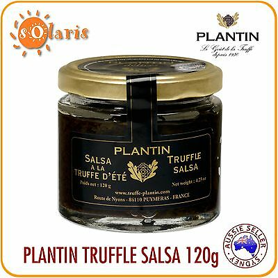Authentic French PLANTIN Summer Truffle Salsa 120g with 4% Real Tuber Aestivum