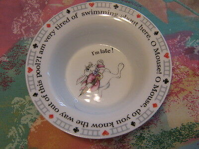 Baby Bowl,Alice in Wonderland Cafe by Paul Cardew, 2010, 1st, England.