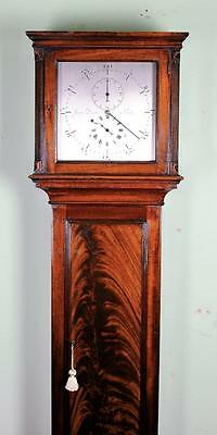 Regency Regulator Longcase Clock Mahogany