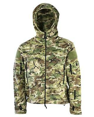 Btp Camo Tactical Recon Fleece Hoodie Multicam Miltary Jacket Survival