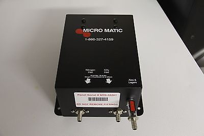Micro Matic MM100 Gas Blender Panel - Single Blend - Micromatic - Free Shipping