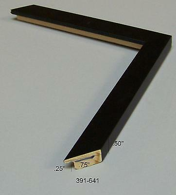 Black square NEW Modern PICTURE FRAME moulding ART photo molding