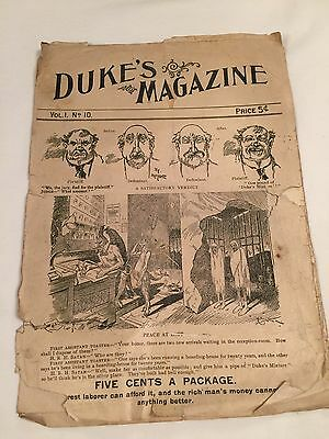 Duke's Mixture Magazine Tobacco 5 Cents