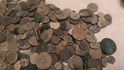 Lot of 20 premium uncleaned ancient coins! Many large coins in the lots!