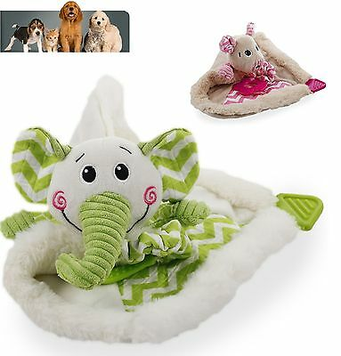 All for Paws Little Buddy Blankets Puppy Small Dog Plush Toys, Dog Toy, Dog Gift