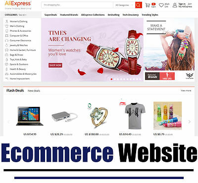 Website - Ecommerce - Internet Business - Online - Money - For Sale -Fully Built