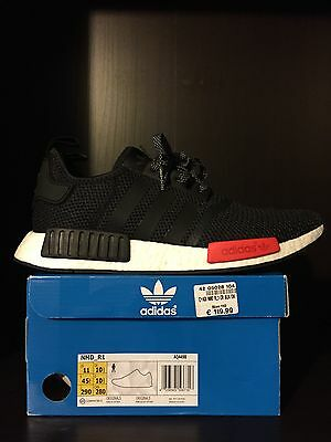 Details about Adidas NMD R1 Footlocker EU Exclusive AQ4498 US 8.5 13 Europe FL Black Red Nomad