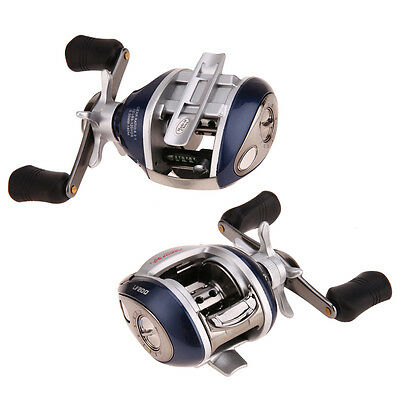 New 12+1BB Ball Bearings Bait Casting Fishing Reel Right 6.4:1 Left/Right Hand