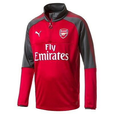 Puma Arsenal FC Official 2018-2019 UEFA Soccer DryCell Training Top Navy Pink