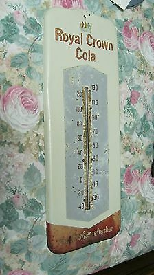 Vintage  'royal Crown Cola'  Thermometer  Working Condition