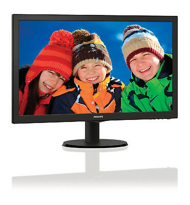Philips Monitor LCD con SmartControl Lite 243V5LHSB/00 24 LED 1920X1080 16:9 5MS