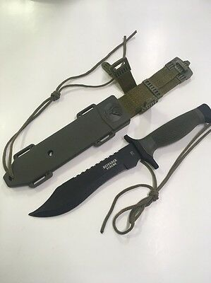 Defender Xtreme Tactical Bowie Hunting Fixed Blade Knife 12 Inch Overall Size