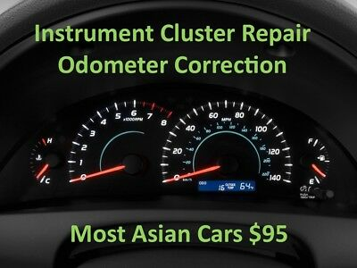 Instrument Cluster Reset Repair Odometer Correction Program Speedometer Odo Set