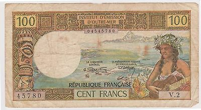 (N3-50) 1960s France/ Noumea 100f bank note (A)
