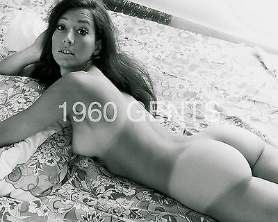 1960 8X10 Nude Photo Of Big Breasts/ Nice Ass Maria Fanelli From Original Neg1