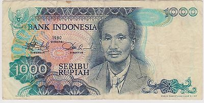 (N3-137) 1980 Indonesia 1000 Rupiah bank note (space filler) (AW)