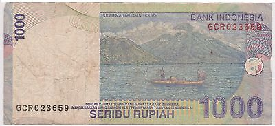 (N3-138) 1987 Indonesia 1000 Rupiah bank note (space filler) (AX)
