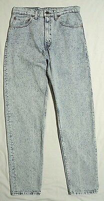 Vtg Levis 550 Acid Electric Wash Jeans 32x32 Made In USA Red Label
