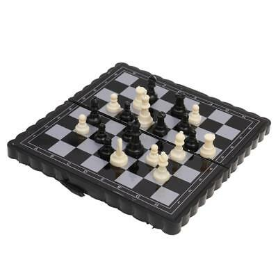 Pocket Traditional Magnetic Folding International Checkers Set 32 Pcs Party