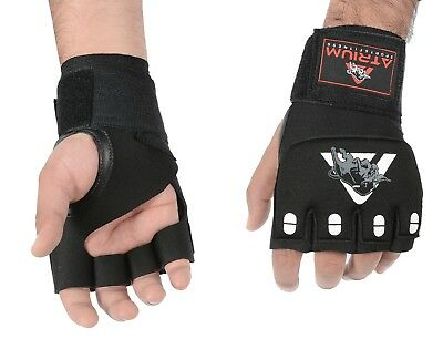 Authentic Rex Leather MMA Gloves Grappling UFC Fight Boxing Punch Bag Sparringx