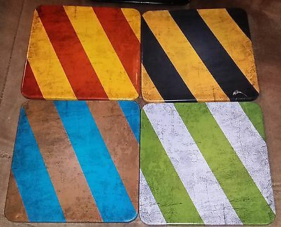 Hogwarts House Coasters Geekgear Harry Potter Gryffindor Ravenclaw Slytherin