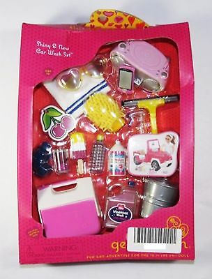Our Generation Shiny and New Car Wash Set -18 Inch Dolls