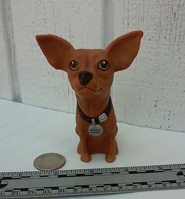 uSED - Taco Bell Dog Chihuahua Figure Yo Quiero Taco Bell Toy Promo