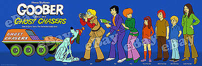 EXTRA LARGE! GOOBER AND THE GHOST CHASERS Panoramic Photo Print HANNA BARBERA