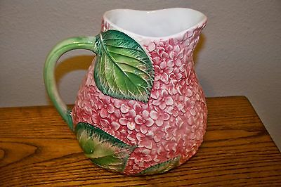 Vintage Decorative Art Pottery Made In Italy By Ancora Pitcher