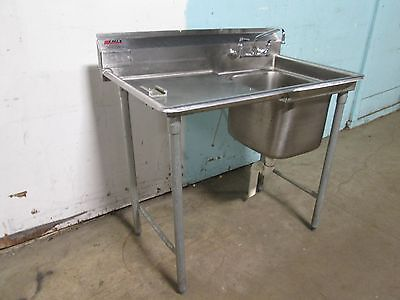"""""""EAGLE"""" HEAVY DUTY COMMERCIAL (NSF) S.S. VEGETABLE PREP SINK w/FAUCET"""