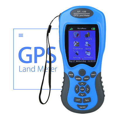 NF-198 GPS Land Meter Area Measuring Value Display Outdoor For Farm Land/Mapping