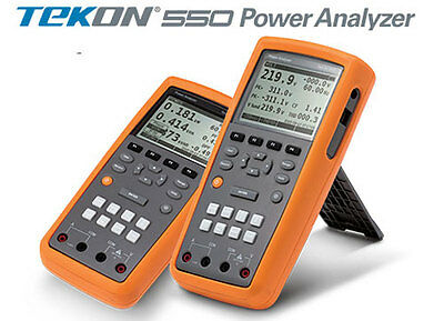 [TEKON] TEKON 550 Power Quality Analyzer Power Tester Power Logger 3P4W Test
