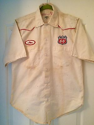 Vintage Phillips 66 Service Station Shirt- Lee Brand