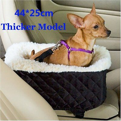 Pet Dog Cat Puppy Secure Safety Travel Seat Booster Car Seat Outdoor Console SUV