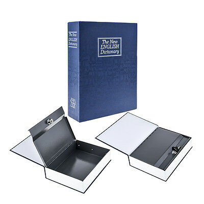 Book Safe Dictionary Diversion Safe with Key Lock - L Size