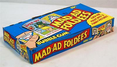 1976 Topps Mad-Ad Foldees FULL Display Box with 36 Unopened PACKS