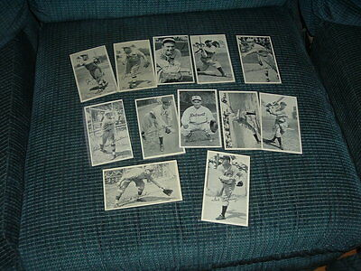 1934 R313-A Gold Medal Flour Foods Complete Set of 12 with Dizzy Dean + Mailer
