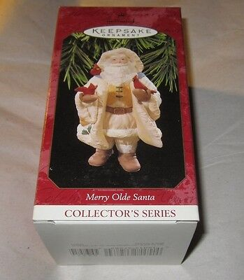 Hallmark Keepsake Ornament ~ Merry Olde Santa ~ 1997 *new