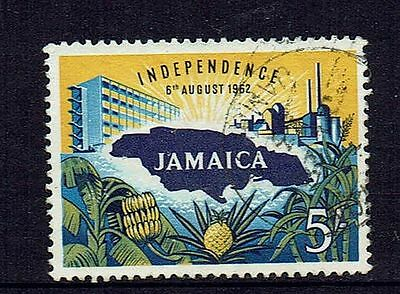 Jamaica  1962  Independence   5/-  Top Value