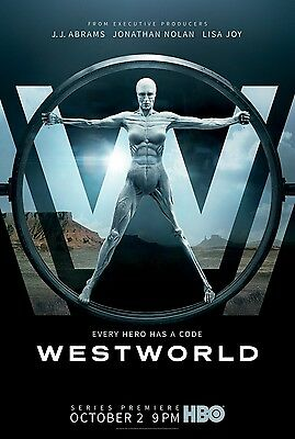 """HBO - WEST WORLD 11""""x17"""" TV SERIES POSTER PRINT #1"""