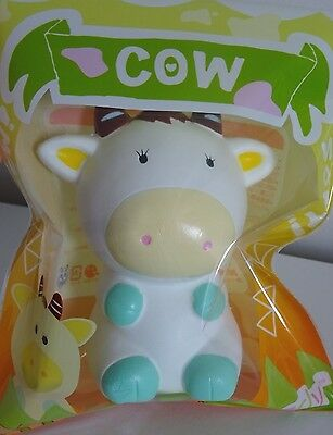 Areedy Jumbo COW Squishy Slow Rising & Scented SHIPS FROM THE USA