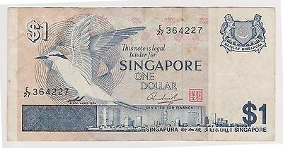 (N3-217) 1987 Singapore $1 bank note (space filler) (C)
