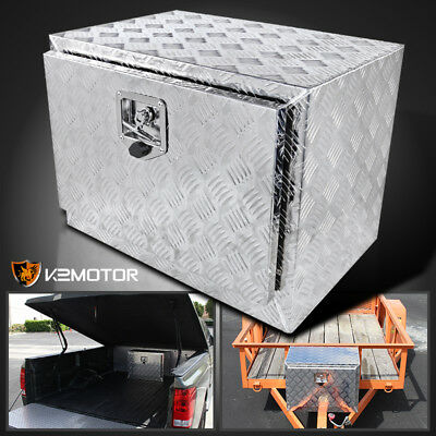 "24"" Heavy Duty Aluminum Tool Box Truck Pick Up Underbody Truck Trailer Storage"