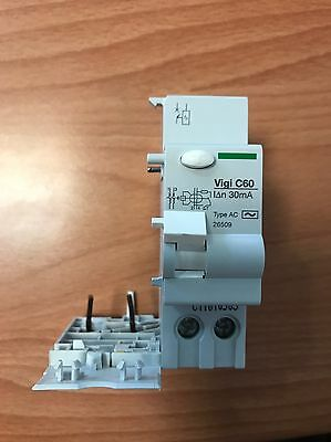 SCHNEIDER ADAPTABLE RESIDUAL CURRENT DEVICE 25A 2P 30mA AC