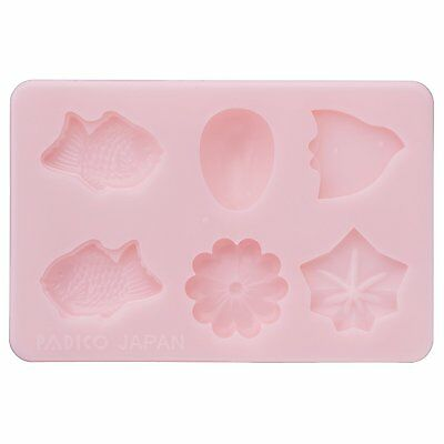 Padico WAGASHI Soft Mold For  Clay Made In JAPAN