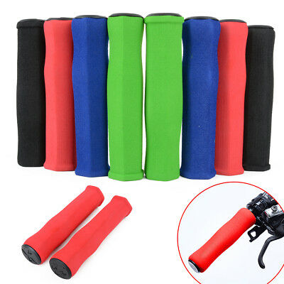 2X Anti-slip BMX MTB Bike Mountain Bicycle Handle Handlebar Silicone Sponge Grip