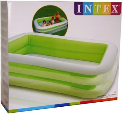 Intex Swim Center Familien Kinder Pool Schwimmbecken Planschbecken 262 x 175 cm