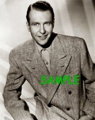 RALPH BELLAMY Hollywood Legend   -  PHOTOGRAPH