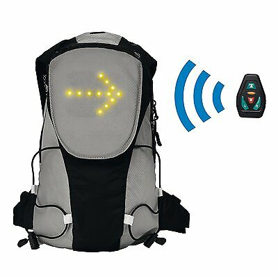 Mochila Con Panel Frontal Led Clipsonic